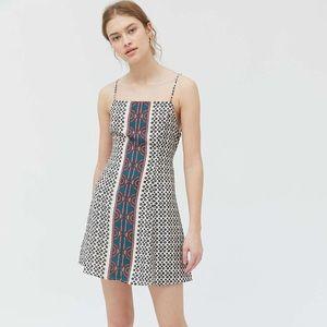 NWT Urban Outfitters Kingston Cutout Mini Dress